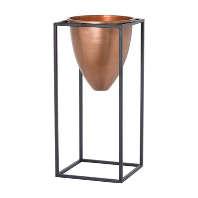 Large Copper Planter - Husoe Home