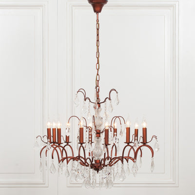 Châlons-en-Champagne Bronze Antique Chandelier - Husoe Home