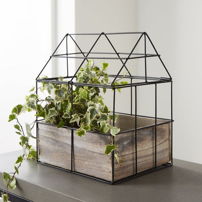 Botanical Greenhouse Herb Planter Tabletop/Windowsill - Husoe Home