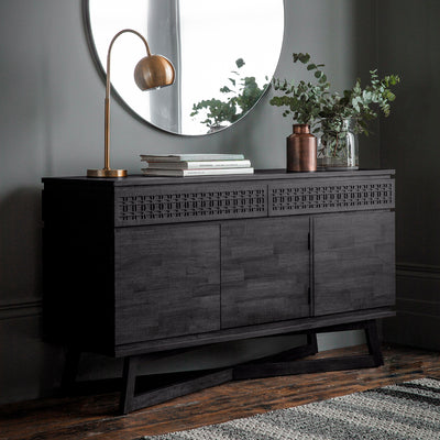 Dérive Collection 3 Door 2 Drawer Sideboard - Husoe Home