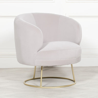 Oyster Statement Armchair - Husoe Home