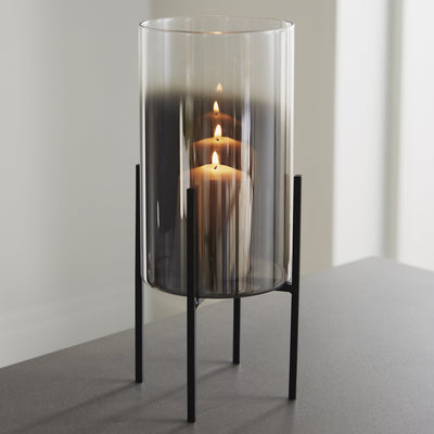 Glass Stand Candle Holder - Husoe Home
