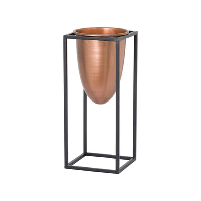 Medium Copper Planter - Husoe Home