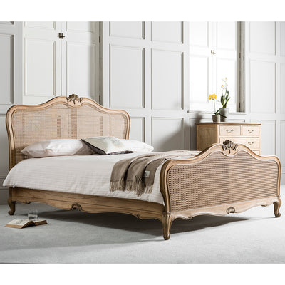Debonair Collection Cane Bed - Chestnut - Husoe Home