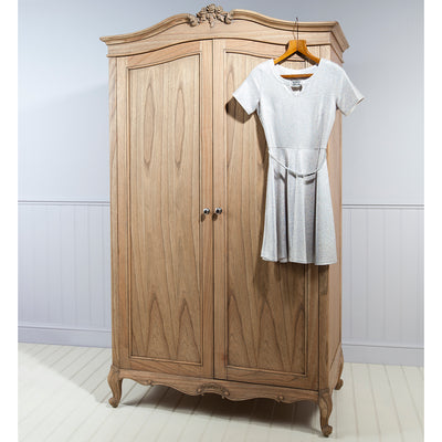 Debonair 2 Door Wardrobe Chestnut - Husoe Home