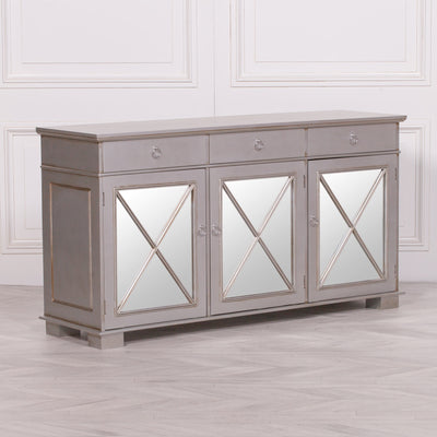 Toulon Silver Antique Sideboard - Husoe Home