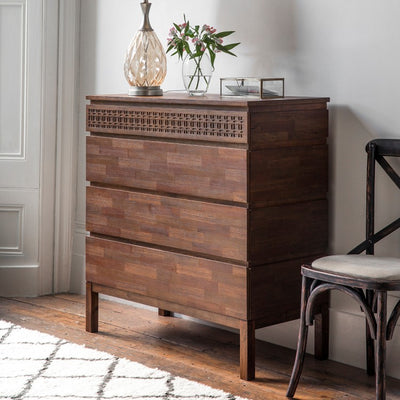 Dérive Collection Four Drawer Chest - Husoe Home