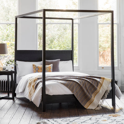Dérive Collection Four Poster Bed - Husoe Home