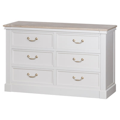 Knightsbridge Collection Six Drawer Chest - Husoe Home