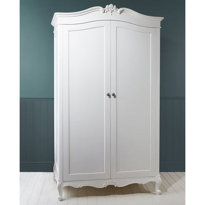Debonair 2 Door Wardrobe Jasmine White - Husoe Home