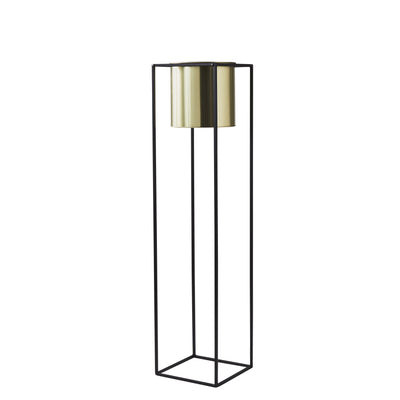Elegant Large Gold Plant Holder Stand - Husoe Home