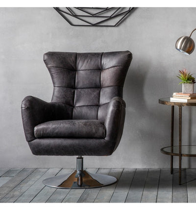 Varenna Swivel Chair - Husoe Home