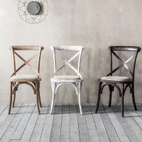 Set of Two De Rien Café Chairs - Husoe Home