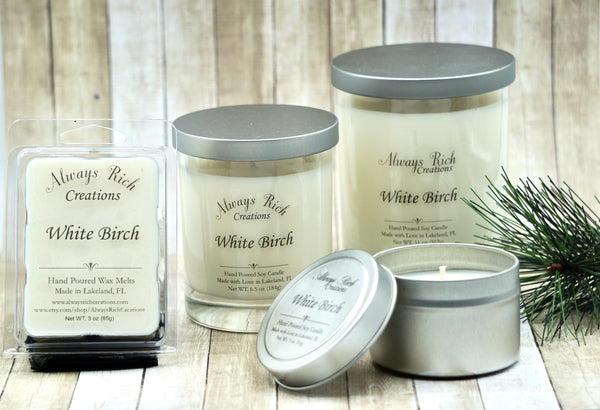 White Birch Soy Collection
