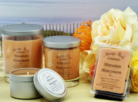 Hawaiian Honeymoon Collection - Always Rich Creations