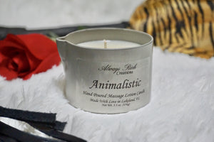 Animalistic Massage Candle