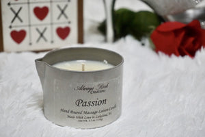 Passion Massage Candle - Always Rich Creations