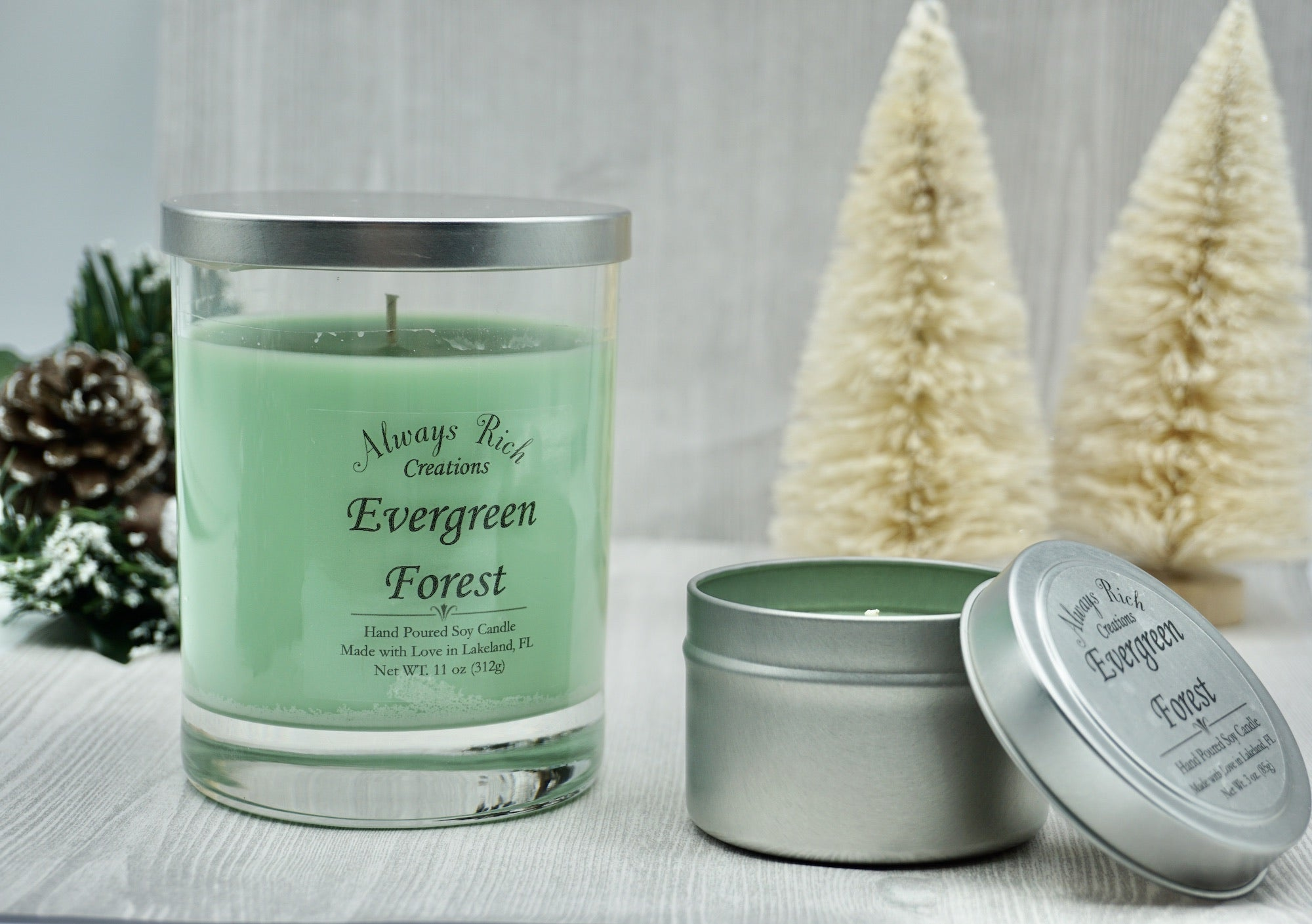 Evergreen Forest Soy Collection