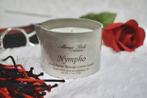 Nympho massage candle - Always Rich Creations
