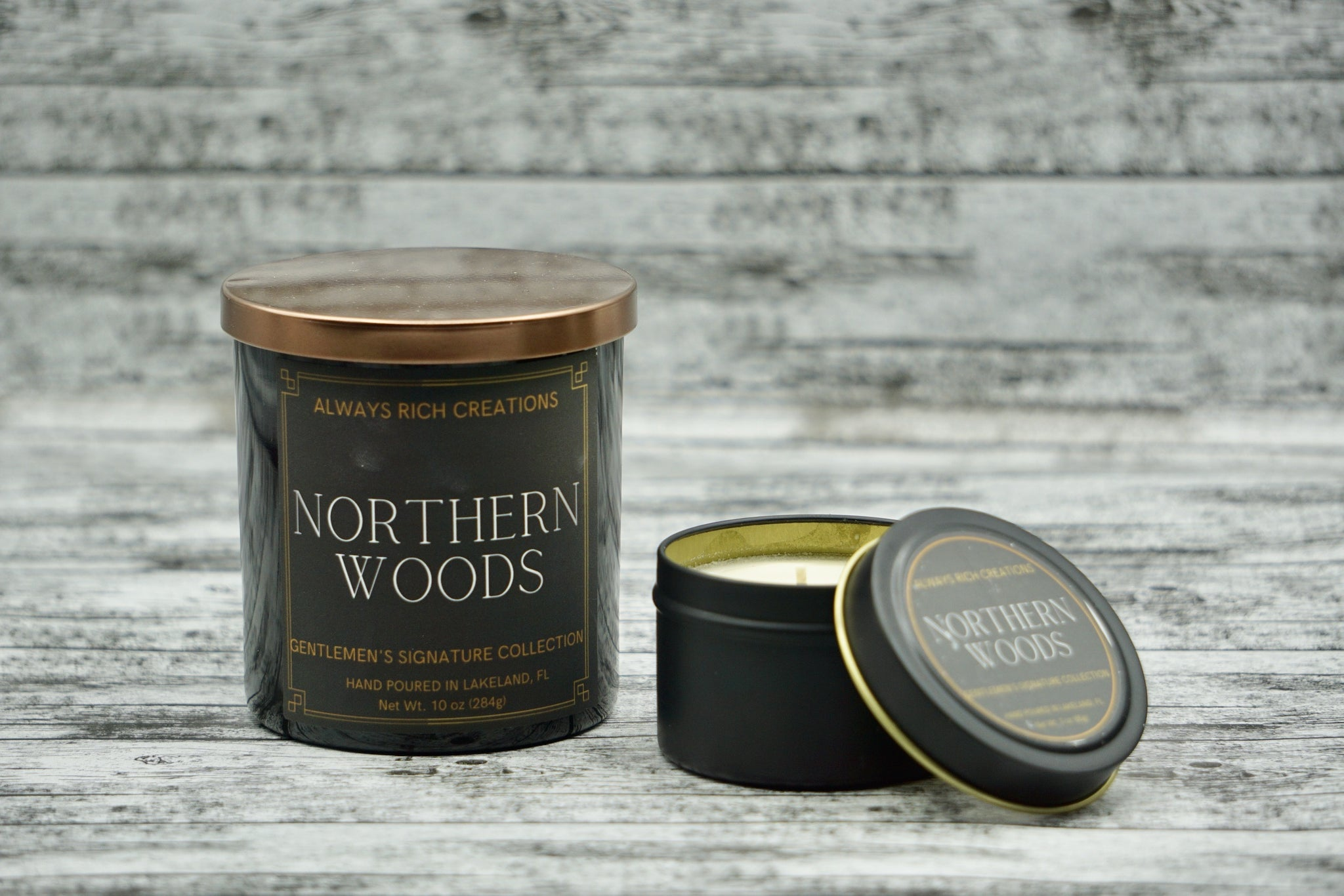Northern Woods Soy Candle