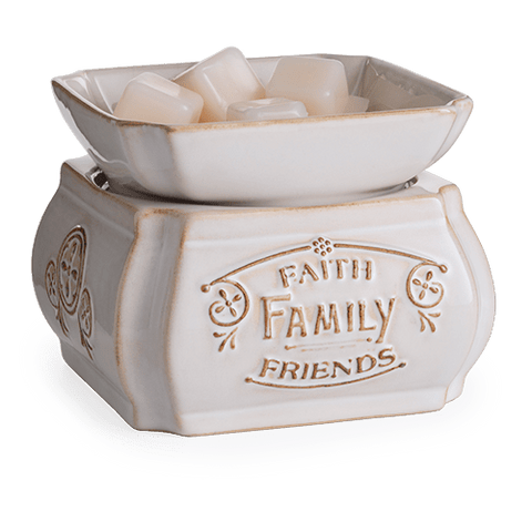 Faith, Family, Friends 2 in 1 Warmer - Always Rich Creations