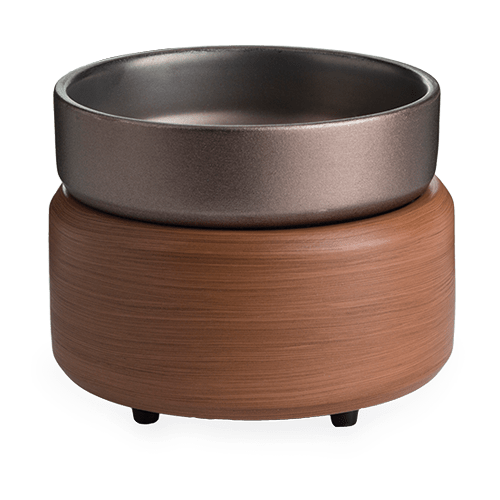Pewter Walnut 2 in 1 Warmer