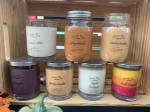 Fall Soy Candles