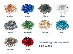 "Fire Bowl 30"" Moderno 3 Copper - Free Cover ✓ [Prism Hardscapes]"