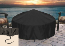 Load image into Gallery viewer, Fire Pit Art Tropical Moon Fire Pit + Free Weather-Proof Fire Pit Cover - The Fire Pit Collection