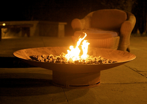 Fire Pit Art Asia Fire Pit + Free Weather-Proof Fire Pit Cover - The Fire Pit Collection