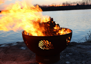 Fire Pit Art Beachcomber Fire Pit + Free Weather-Proof Fire Pit Cover - The Fire Pit Collection