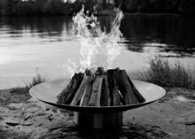 Load image into Gallery viewer, Fire Pit Art Bella Vita Stainless Steel Fire Pit + Free Weather-Proof Fire Pit Cover - The Fire Pit Collection