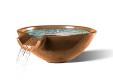 "Load image into Gallery viewer, Slick Rock Concrete Camber Round 29"" Water Bowl"