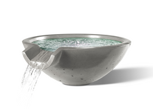 "Load image into Gallery viewer, Camber Round Water Bowl 29"" - Free Cover ✓ [Slick Rock Concrete]"