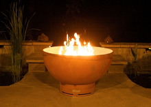 Load image into Gallery viewer, Fire Pit Art Crater Fire Pit + Free Weather-Proof Fire Pit Cover - The Fire Pit Collection