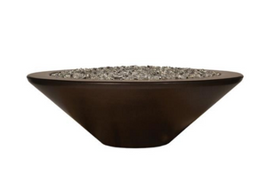 "Fire by Design Geo Round ""Essex"" Fire Bowl / Electronic Ignition"