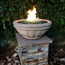 Load image into Gallery viewer, Tuscany Fire Bowl with Electronic Ignition - Free Cover ✓ [Fire by Design]