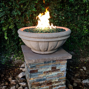Tuscany Fire Bowl with Electronic Ignition - Free Cover ✓ [Fire by Design]