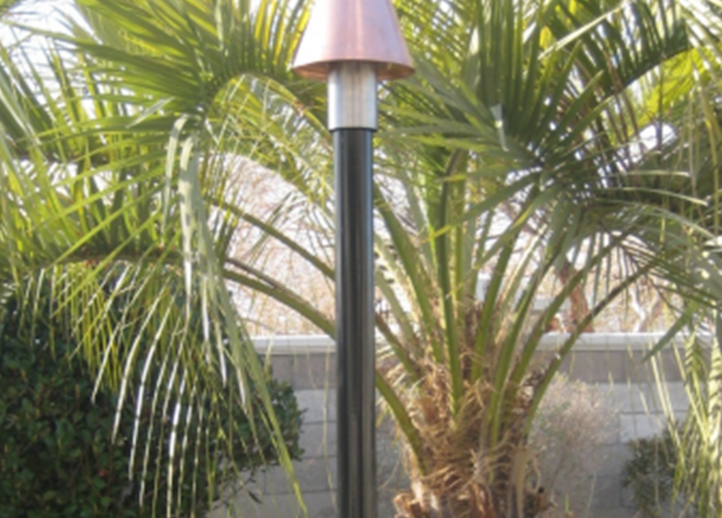 Fire by Design Aluminum Powder Coated Tiki Torch Pole - The Fire Pit Collection