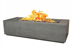 Fire by Design Aura Rectangle Fire Table / Electronic Ignition  + Free Cover - The Fire Pit Collection
