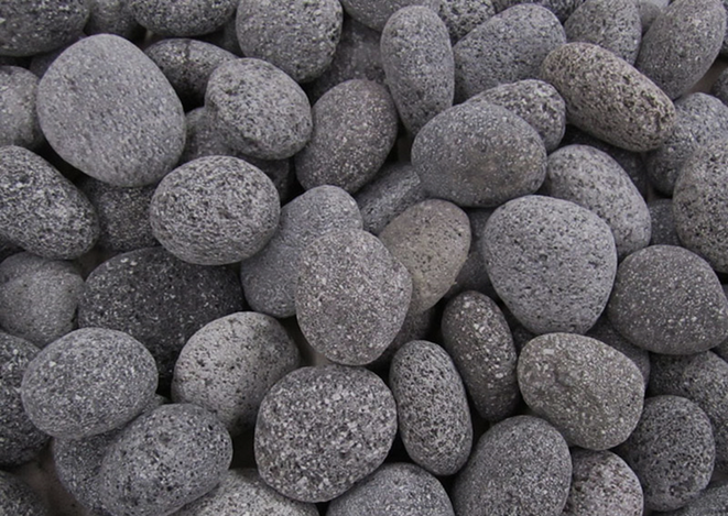 Fire by Design Small Rolled Lava Stones - The Fire Pit Collection