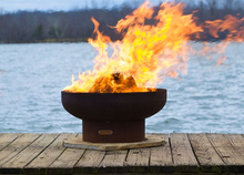 Load image into Gallery viewer, Fire Pit Art Low Boy Fire Pit + Free Weather-Proof Fire Pit Cover - The Fire Pit Collection