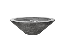 "Load image into Gallery viewer, Prism Hardscapes 31"" Embarcadero Pedestal Fire Bowl with Electronic Ignition + Free Cover - The Fire Pit Collection"