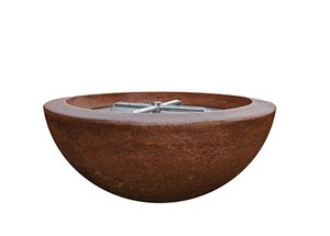 "Fire Bowl 29"" Moderno 2 - Free Cover ✓ [Prism Hardscapes]"