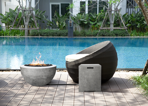 "Fire Bowl 30"" Moderno 3  - Free Cover ✓ [Prism Hardscapes]"