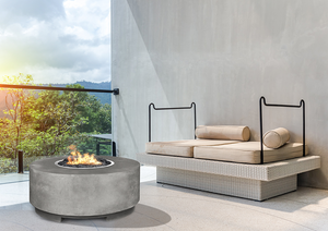 Fire Table Rotondo with Electronic Ignition - Free Cover ✓ [Prism Hardscapes]