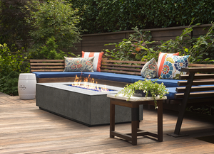 Fire Table Tavola 1 with Electronic Ignition - Free Cover ✓ [Prism Hardscapes]