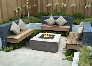 "Fire Table 36"" x 36"" Tavola 2 with Electronic Ignition - Free Cover ✓ [Prism Hardscapes]"