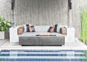 Fire Table Tavola 5 with Electronic Ignition - Free Cover ✓ [Prism Hardscapes]