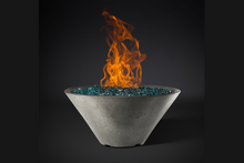 Load image into Gallery viewer, Fire Bowl Ridgeline Conical with Electronic Ignition - Free Cover ✓ [Slick Rock Concrete]
